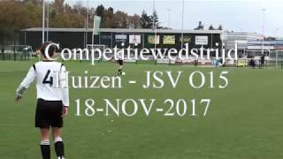 20171118 Huizen - JSV O15 1-3