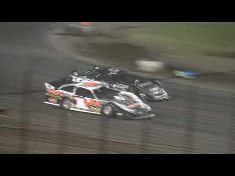 IMCA Late Model Heat 3 Davenport Speedway 9/21/18