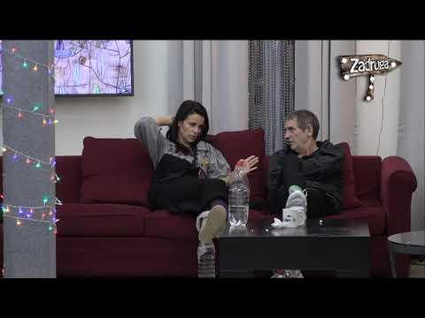 Zadruga 2 - Višnja i Mića pričaju o Ani i Davidu - 12.01.2019.