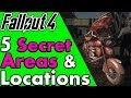 5 Secret and Hidden Locations in Fallout 4 You May Have Missed (Dev Room and Test Cells) #PumaCounts