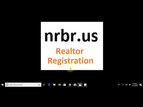 nrbr us Realtor Registration