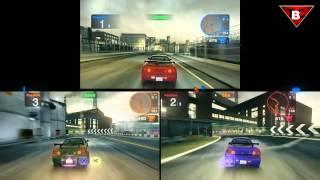 Blur Multiplayer Splitscreen GTX 550Ti Gameplay #2