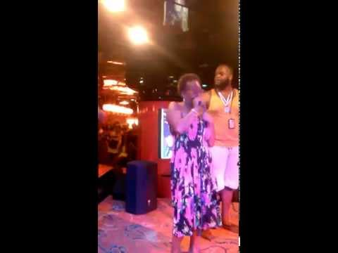 Valerie - Karaoke Onboard Carnival Cruise Line