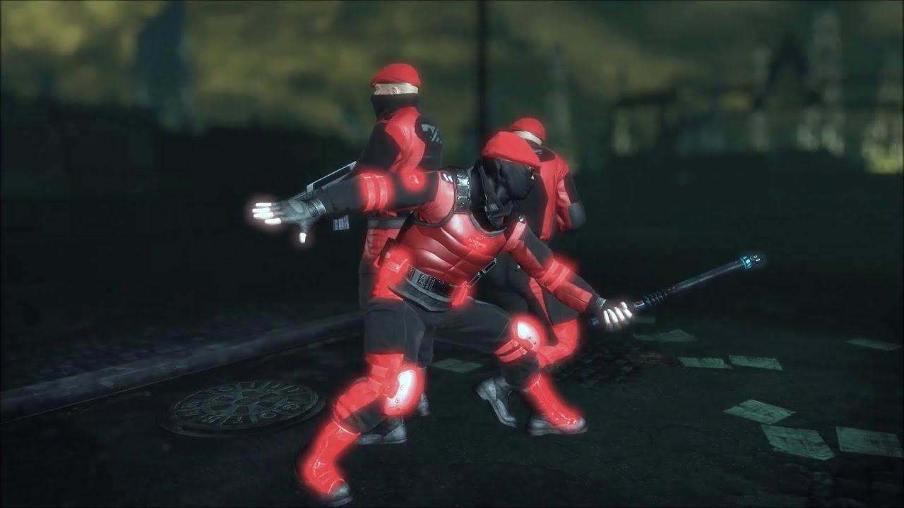 SKIN; Batman; Arkham City; Red & Black Tyger Guards - YouTube Tylerdurden