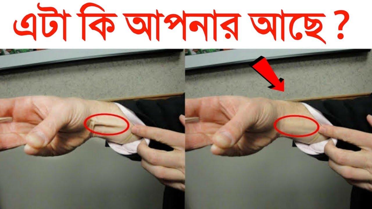 আপনার হাতের কব্জিতে কি এই শিরা আছে | Do you have a vein in hand | Top 20 Amazing Facts in Bangla