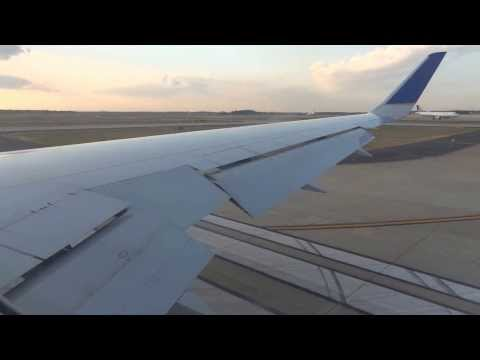 Taxi, Takeoff, and Climb Out of United Airlines Flight 936 from Washington Dulles to Zurich