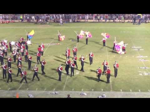 Stanhope Elmore High school Marching Band 8/26/16