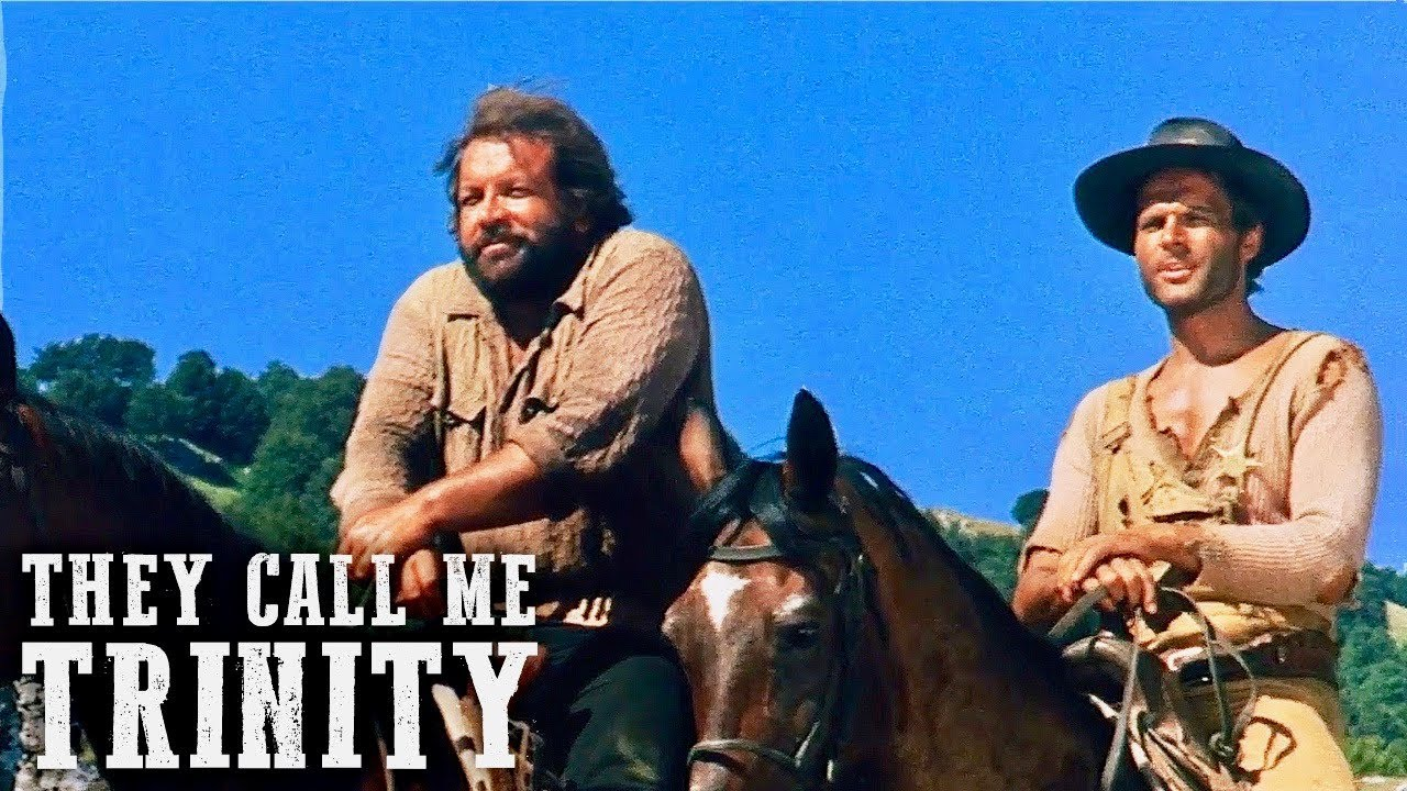 They Call Me Trinity | WESTERN | English | Full Length Spaghetti Western Film | Full Movie