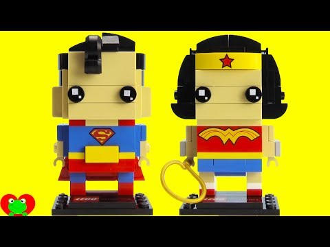 SUPERHERO LEGO Brickheadz Superman and Wonder Woman 41490