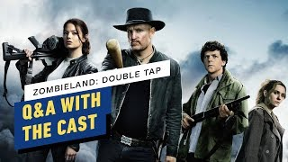 Zombieland: Double Tap Q&A With the Cast (Woody Harrelson, Emma Stone, Jesse Eisenberg)