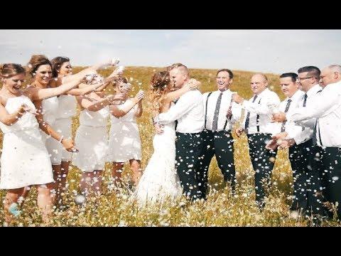 Brooke & Brendon's Wedding Film in Buffalo Pound, Saskatchewan