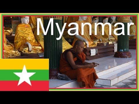 Arriving in Yangon in Myanmar (Burma) from  Kuala Lumpur in Malaysia