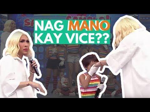 Ano ang ikinagulat ni Vice Ganda sa ginawa sakanya ng isang batang contestant?? 😂