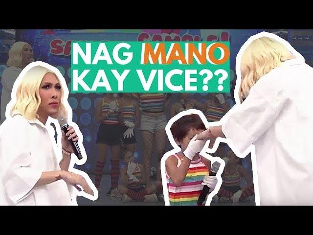 Ano ang ikinagulat ni Vice Ganda sa ginawa sa kanya ng isang batang contestant?? 😂