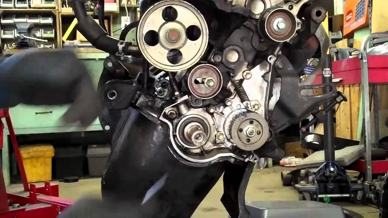 Nissan Frontier Timing Chain Diagram 2007 Honda Civic Starter Wiring How To Replace A Crankshaft Seal. Tips And Tricks - Youtube