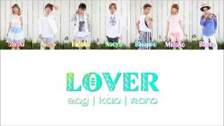 Gambar cover AAA -「LOVER」[Color Coded Lyrics/Kan/Rom/Eng]