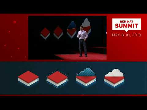 Paul Cormier at Red Hat Summit 2018: The future is open (hybrid cloud)