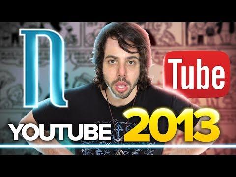 Como era o YOUTUBE em 2013? (IMPRESSIONANTE)