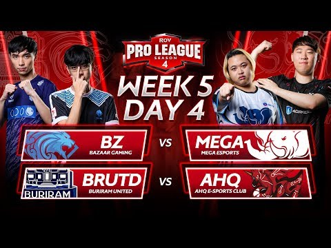 RoV Pro League Season 4 | Week 5 Day 4