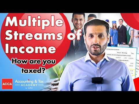 Multiple streams of Income UK | How are you taxed?