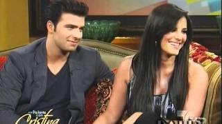 Pa'lante con Cristina entrevista con Jencarlos Canela y Gaby Espino Part 1