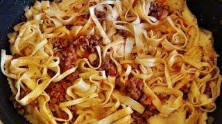 Итальянская паста: рецепт приготовления.