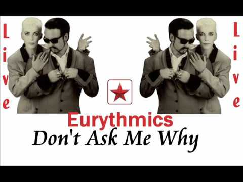 Eurythmics Don't Ask Me Why Live Rome, Italy 1989