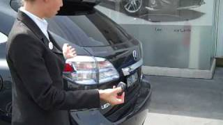 Lexus of Brighton - How to fix your Lexus RX tailgate if it wont work using your Smart Key