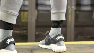 ADIDAS TUBULAR DOOM X KITH CONSORTIUM TOUR PRIMEKNIT on foot review and unboxing RONNIE FIEG
