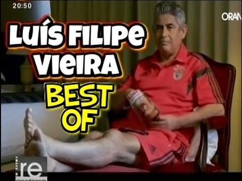 IMPERDÍVEL! O MELHOR DE LUÍS FILIPE VIEIRA NO BENFICA