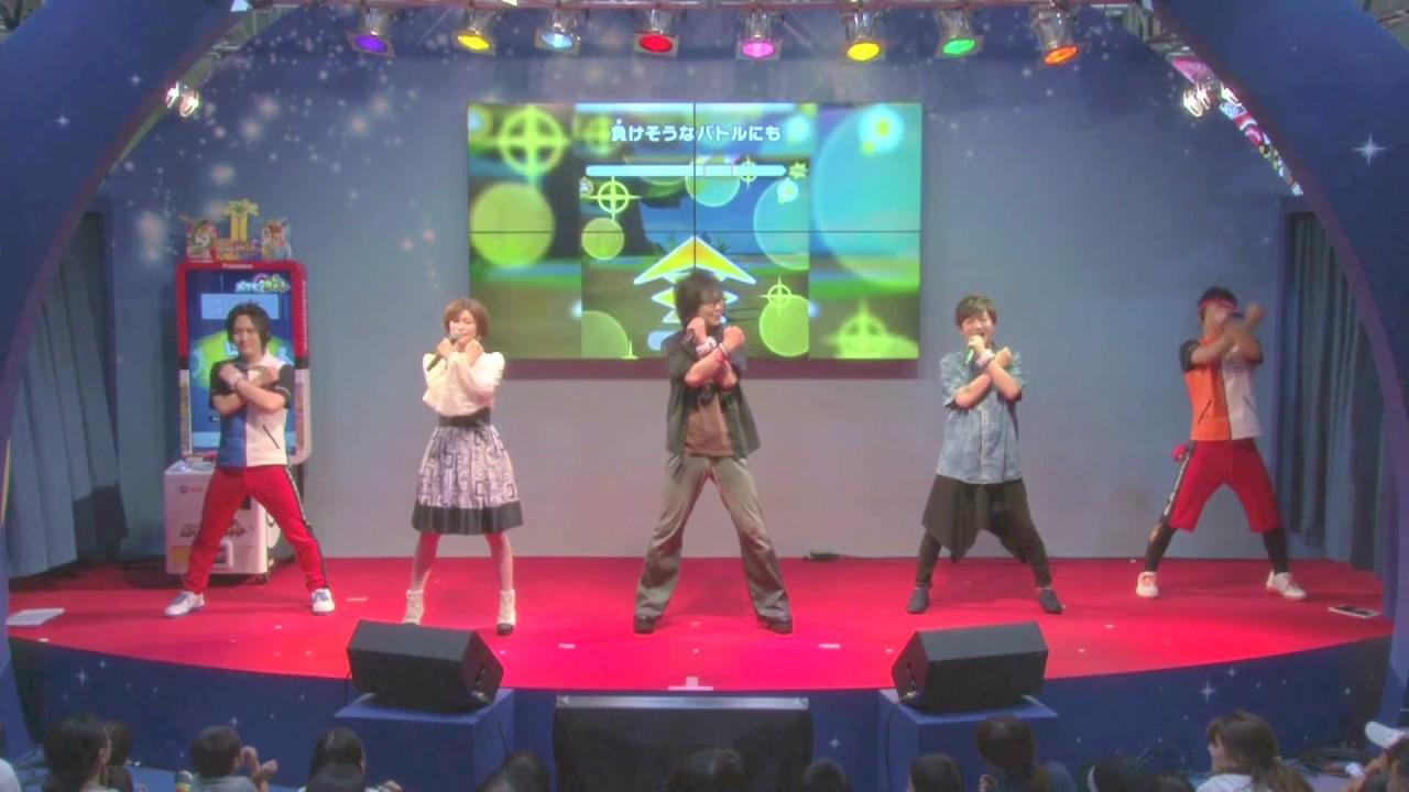 公式】get chance!ポケモンガオーレ!【東京おもちゃショー2017】 - youtube