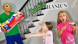 Baldi Steals Our Toilet Paper!!!
