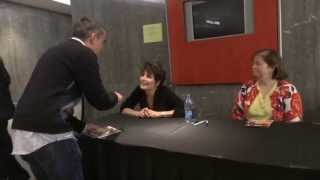 LUCIE ARNAZ Greeting Fans @ Brooklyn Center for the Performing Arts 5.18.13