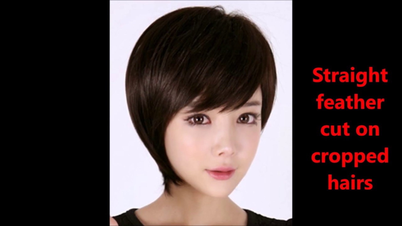 Haircuts Name With Pics||Feather Cut Hairstyles For Short Hairs ...