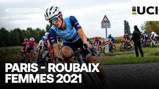 Paris-Roubaix Femmes 2021 | Highlights | Cycling | Eurosport