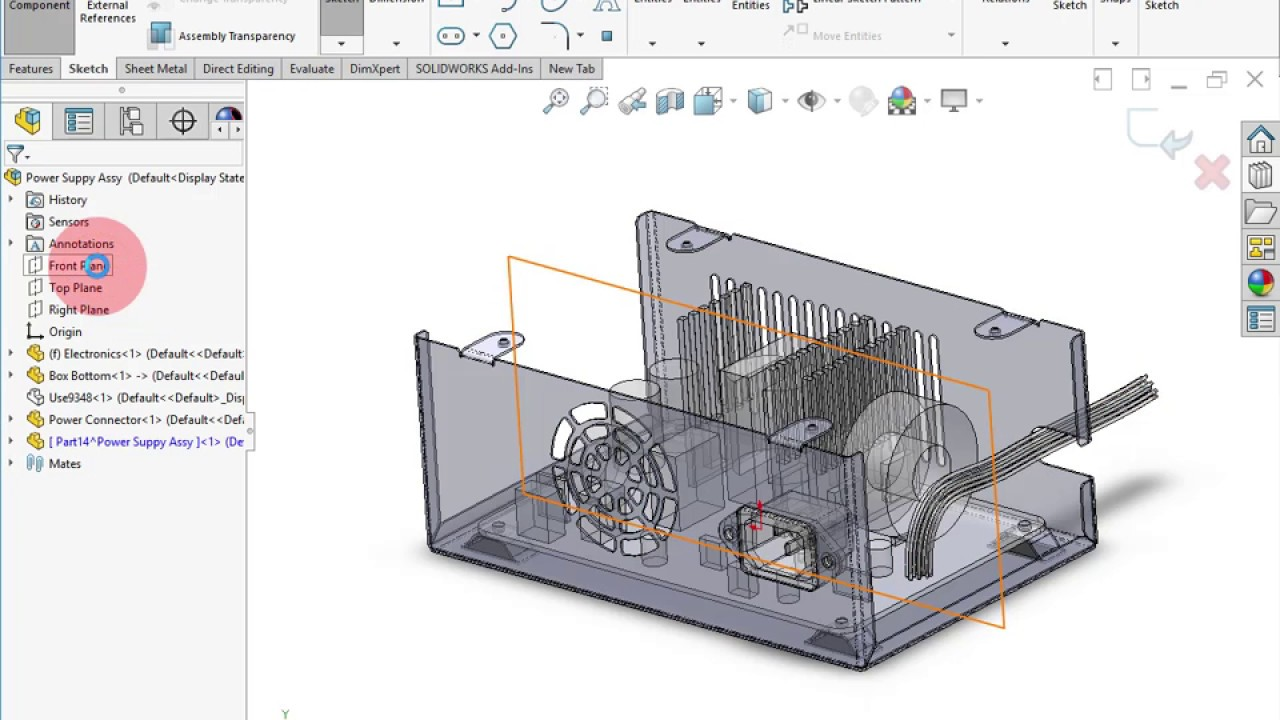 Charming Creating A Sheet Metal Box Cover In SOLIDWORKS 2017 Great Pictures