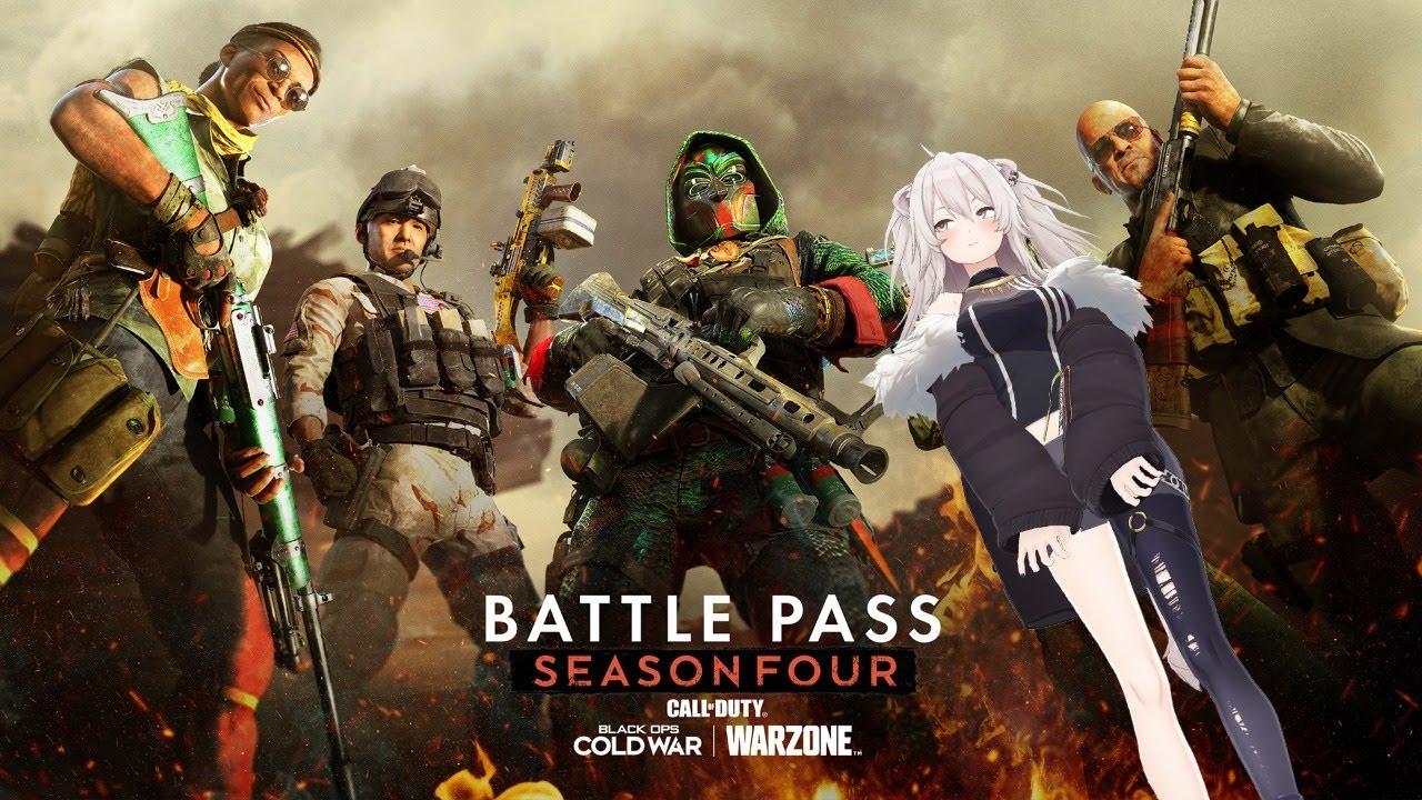 [CoD: BOCW]Let's play Season 4 update![Shishiro Botan / Holo Live]