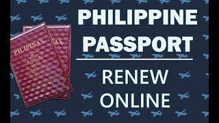 Philippine Passport | How to Renew Online 2019 (Requirements in the Description)
