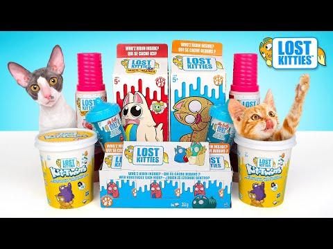 Большой набор Lost Kitties L Откроем все серии прямо сейчас!
