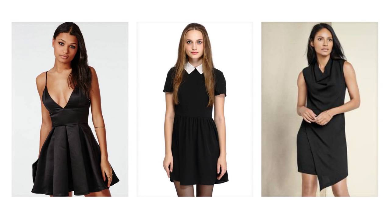 sommerkleid schwarz, schwarzes kleid kurz, schwarzes abendkleid