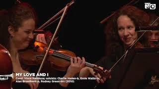 Charlie Haden Quartet West: My Love and I - Metropole Orkest Strings - 2010