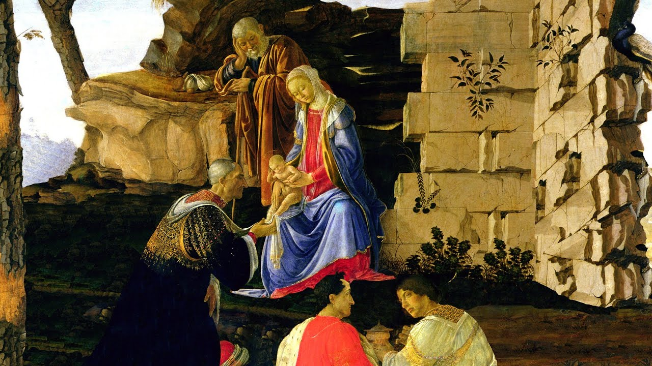 dissecting botticelli s adoration of the magi james earle