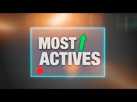Most Actives - Steinhoff, Deutsche Post und ThyssenKrupp