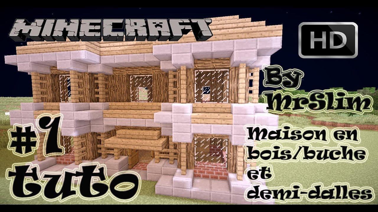 tuto comment faire une belle maison partie 4 minecraft hd commentary youtube. Black Bedroom Furniture Sets. Home Design Ideas