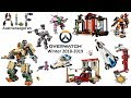 All Lego Overwatch Sets Winter 2018-2019 - Compilation - Lego Speed Build Review