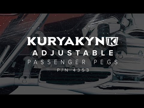 Kuryakyn Adjustable Passenger Pegs for Touring Models