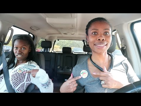 Vlog-My Son Is So Slow, Early Voting, Rubberbands In The Fridge, Christmas Ornaments
