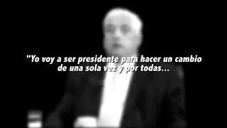 DECLARACIONES DEL PRESIDENTE DURANTE SU CAMPAÑA, SOBRE LA SALA QUINTA