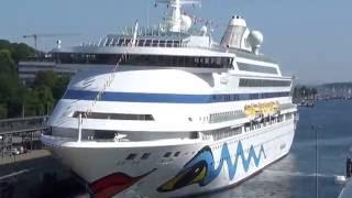 MS Europa Luxuskreuzfahrt Hapag Lloyd Cruises Kreuzfahrt Nachbarschiff AIDAsol