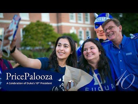 PricePalooza: A Celebration of Duke's 10th President